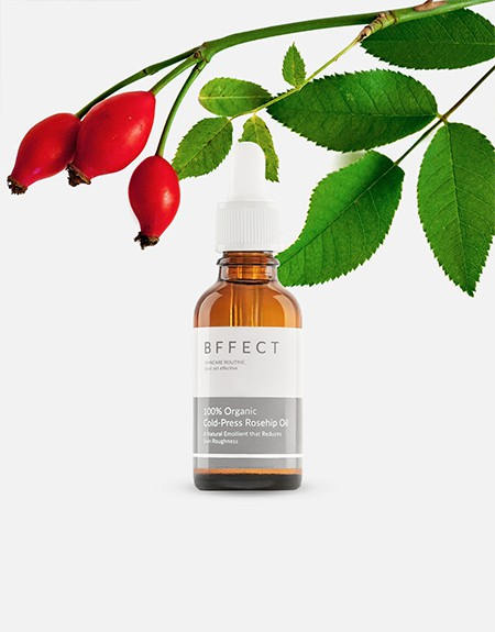 100% Organic Cold-Pressed Rosehip Oil 30ml