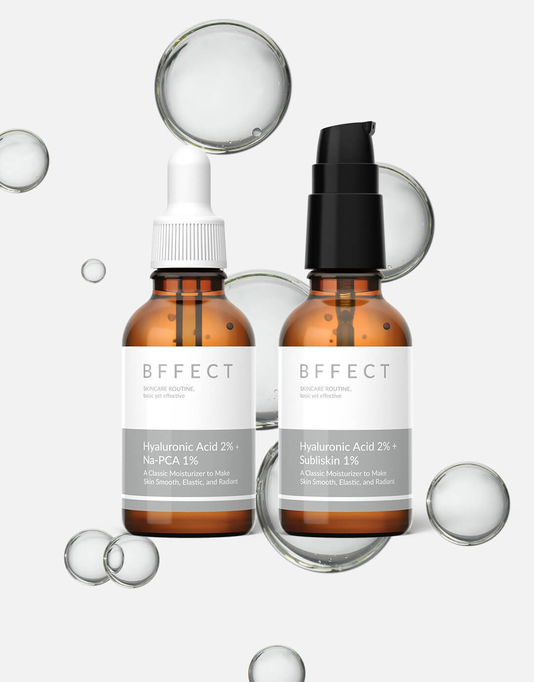Hyaluronic Acid Moisturizing Serum Day Night Set